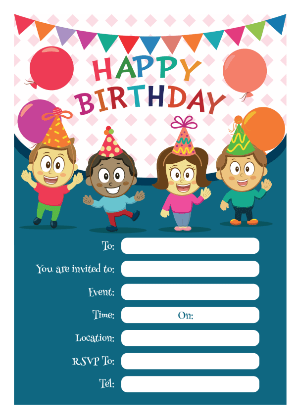 Free Party Invitations Download Bouncy Castle Hire And