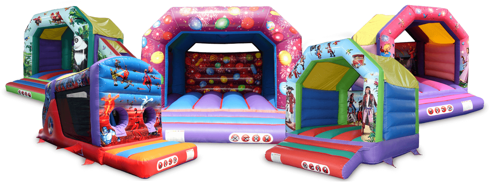 Selection of Bouncy Castles